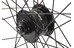 Rigida V-wiel zwart 28 x 1.75, Shimano DH3D30
